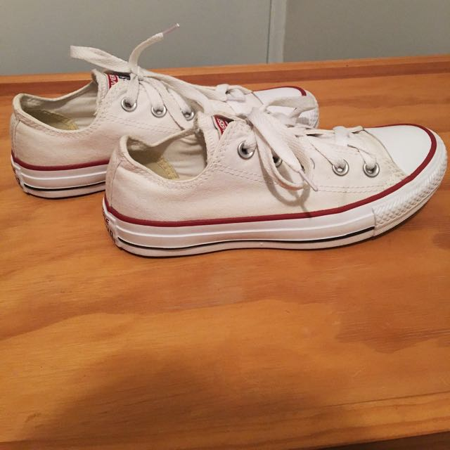 Full White Converse