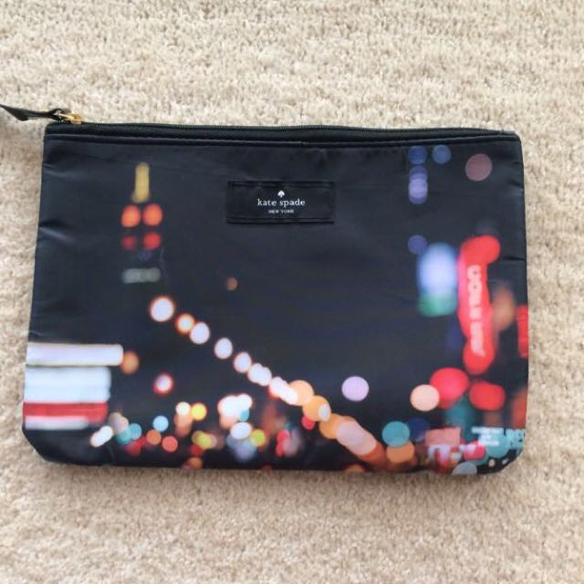 Authentic Kate Spade Make Up Bag