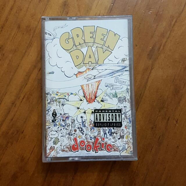 Green Day - Dookie [Cassette Tape]
