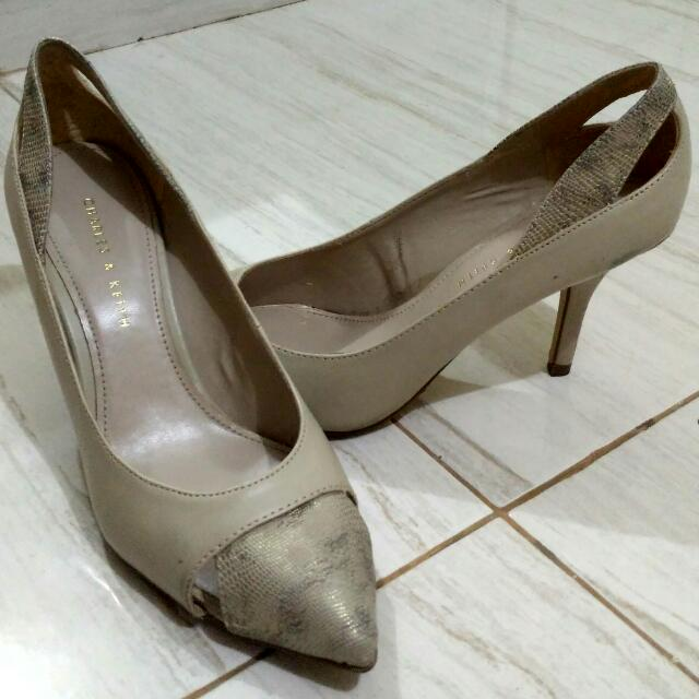 High Heels Charles & Keith ORIGINAL [Re-Price]