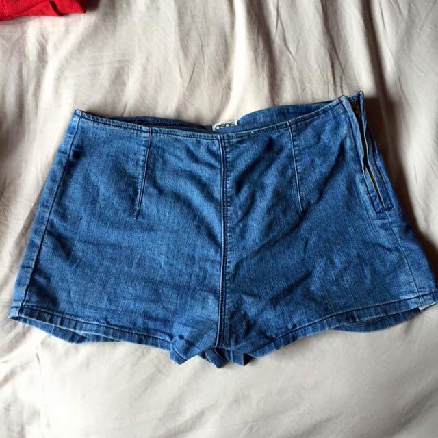 High Waist Tight Shorts