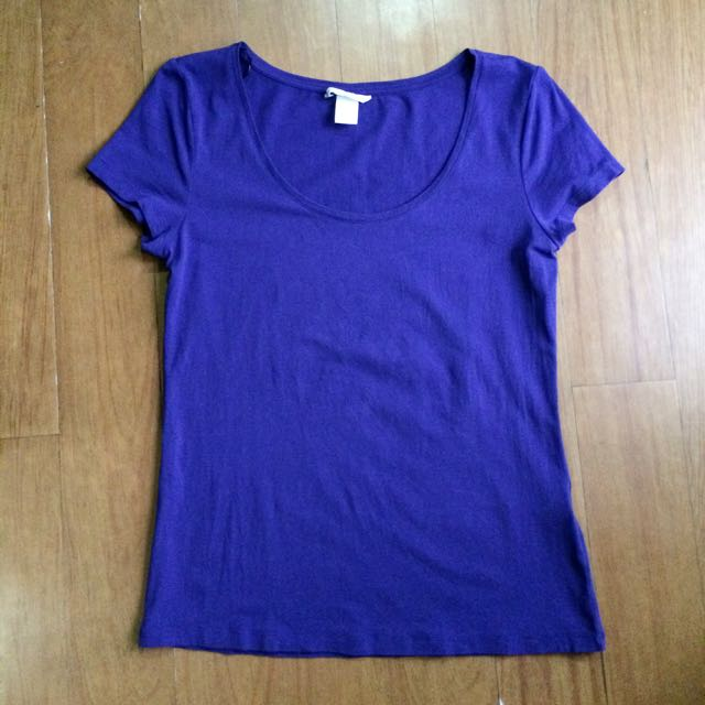 H&M Blue Violet Blouse