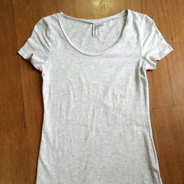 H&M Grey Blouse