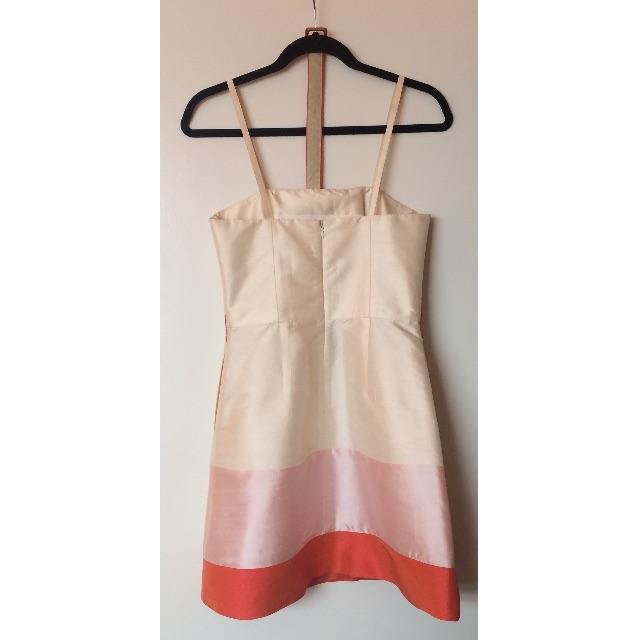 Jayson Brunsdon silk muticoloured mini dress