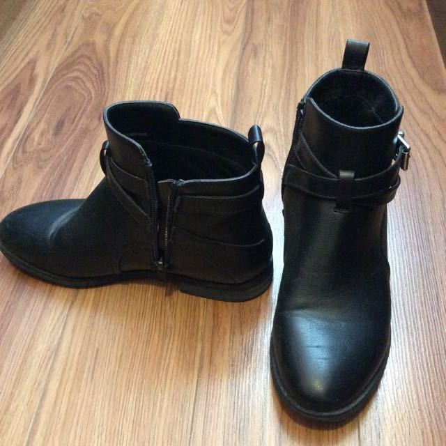 JustFab Ankle MOTO Boots