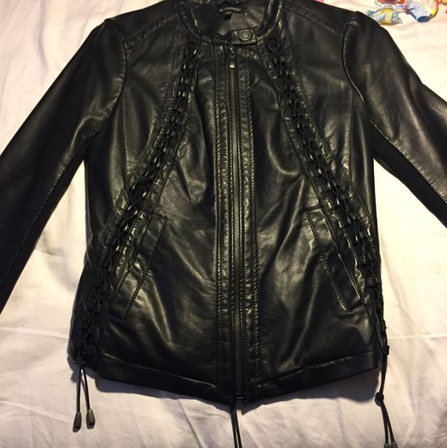 Le Chateau Leather Jacket