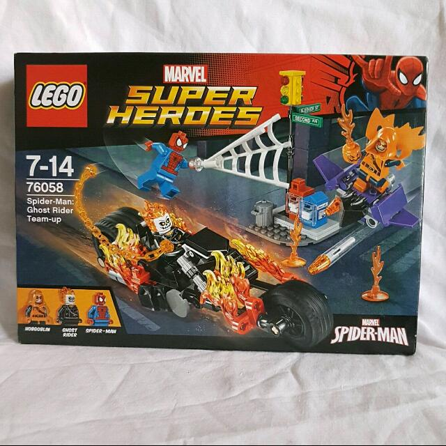 Lego: 76058- Spider-Man & Ghost Rider Team Up