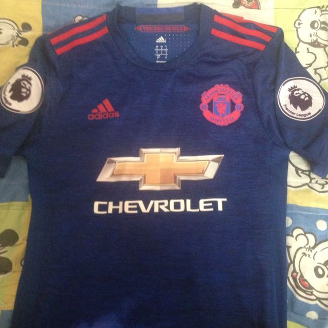 innovative design 264af 043e7 Manchester United Away Kit 16/17, Sports, Sports Apparel on ...