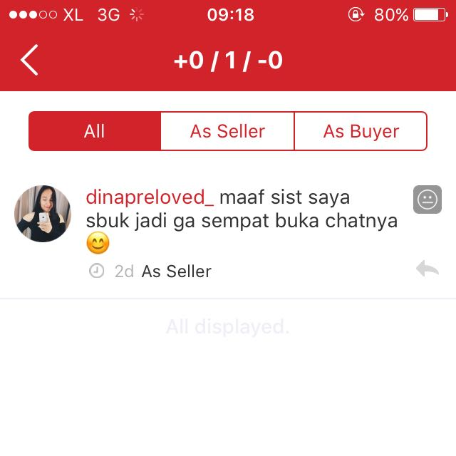 Mengapa Saya Dapat Feedback :| , Buyer Hit And Run