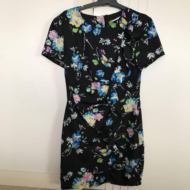 Mossman Mini Floral Dress Size 10