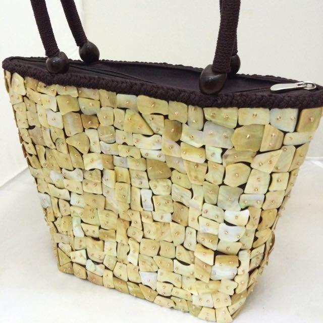 Mother Pearl Handbag
