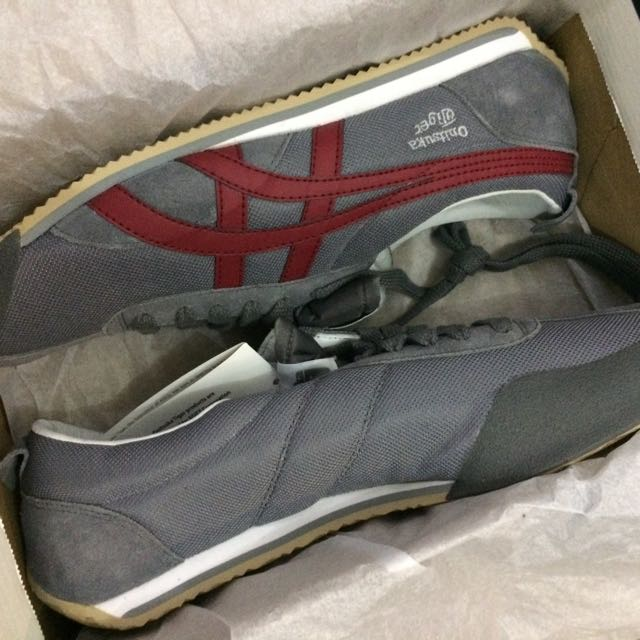 Onitsuka Tiger grey/burgundy