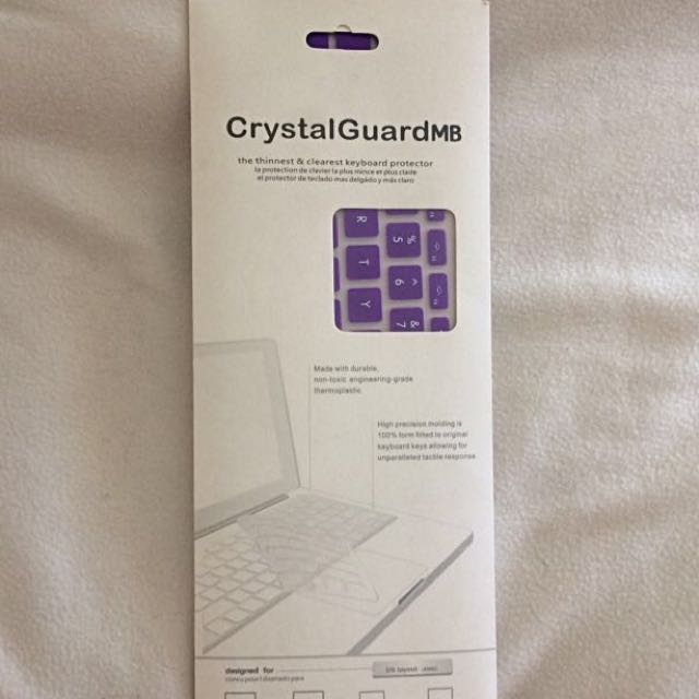 Purple MacBook Keyboard Cover