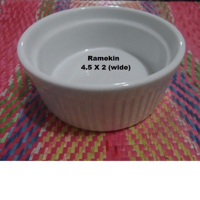 Ramekin BIA Cordon Bleu WIDE Ramekin 10 oz  (BOX OF  6 pcs)