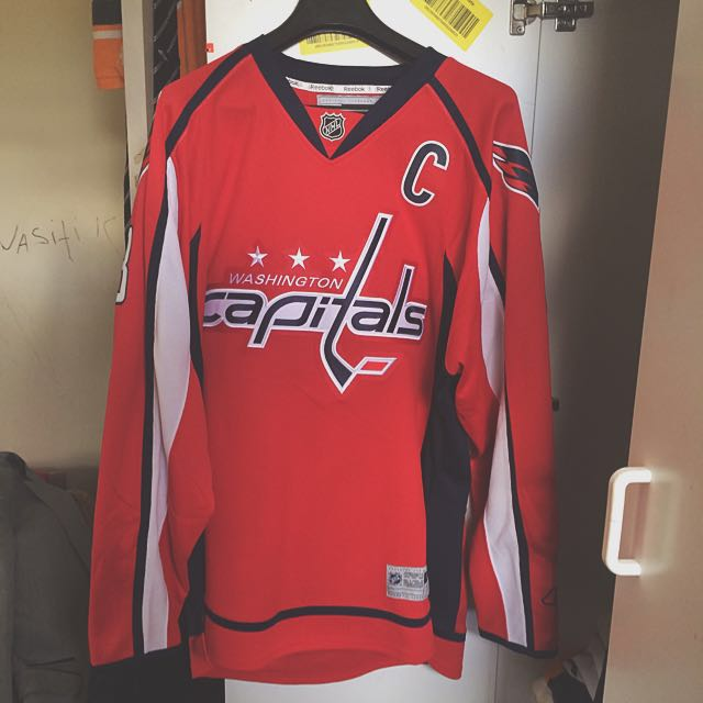 Reebok Authentic NHL Ovechkin Jersey