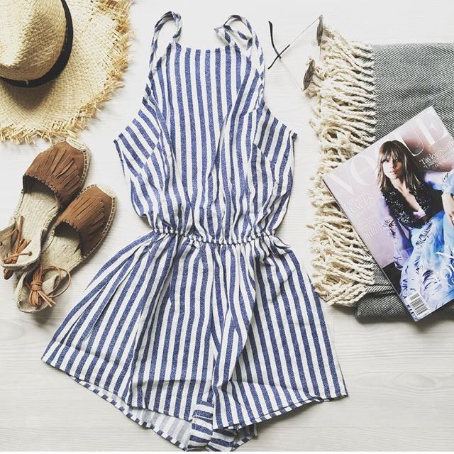 SABO Skirt Stripe Jumpsuit