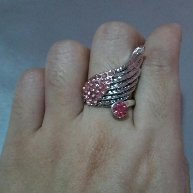 Sakura-inspired Ring
