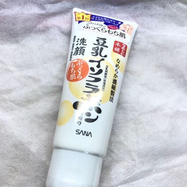 SANA 豆乳洗顏洗面乳(日本買)