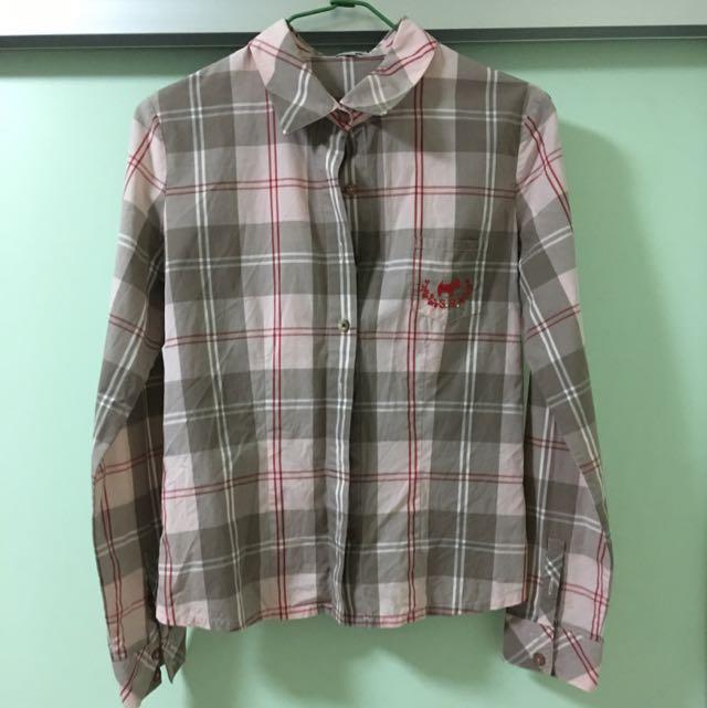 Scottish House格子襯衫