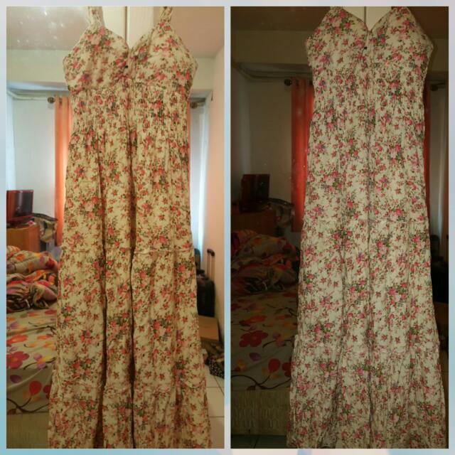Shabby Chic Long Dress