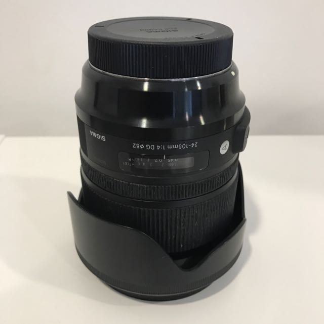 Sigma 24mm-105mm Lens F4 DG OS HSM art Series
