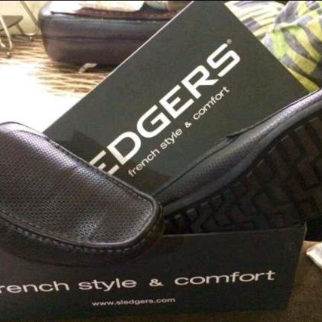 Sledgers Franco Shoes Black