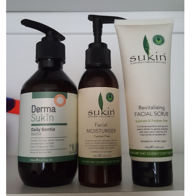 Sukin Products Together OR Seperate