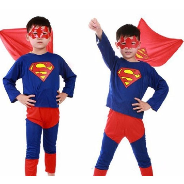 14d38689e8ed2 Superhero costume for kids spiderman costume batman costume superman  costume for halloween cosplay party