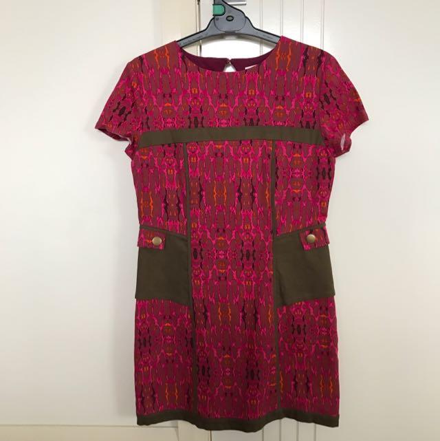 Three Of Something Mini Dress Size 10