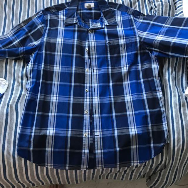 Timberland Men's XL Longsleeve Shirt