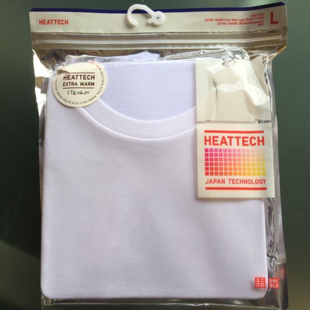 708fa71b Uniqlo HEATTECH Extra Warm Crew-Neck Long-Sleeve T-Shirt, Men's ...