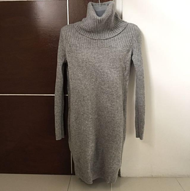 e4e17123ea UNIQLO 100% Wool Sweater Dress on Carousell