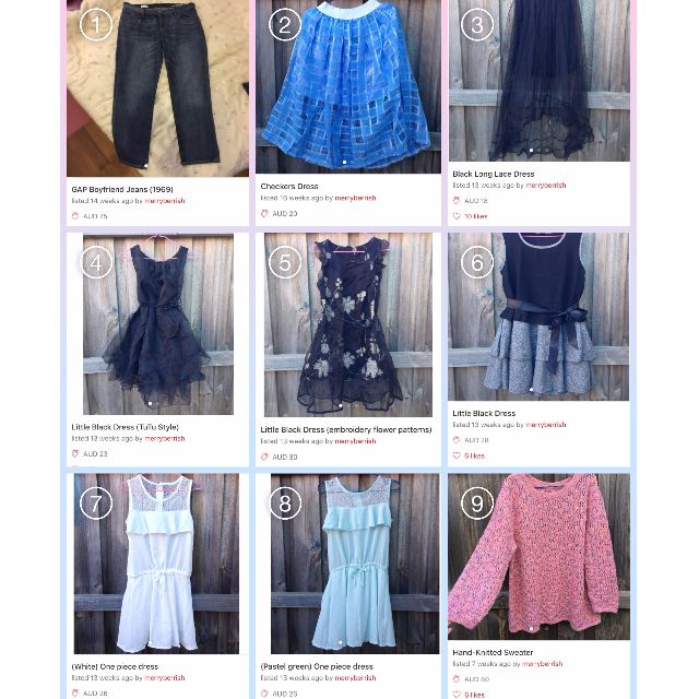 Buy 2 Items Get 20% Off - Women's Clothes Special (New / Used)