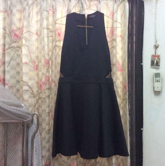 Zalora Cut Out Backless Dress