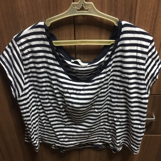 Zara Loose Cropped Top