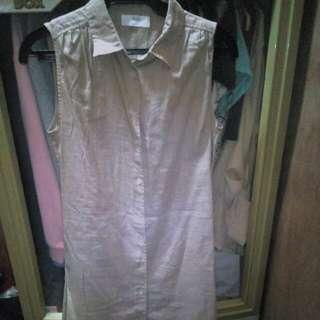 Uniqlo sleeveless polo dress