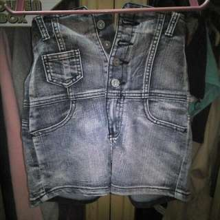 Small high-waisted shorts