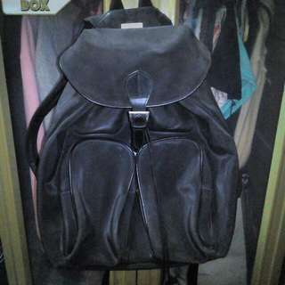 REPRICED!! Hermosura Italy black backpack