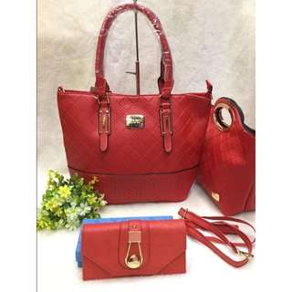 SSA Ninewest set 3in1