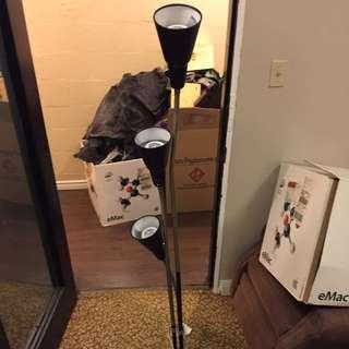 Tall Three Bulb Adjustable Lamp
