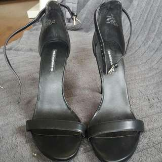 Windsor Smith Black 'Christy' Brand New High Heels Never Been Worn. Size 10