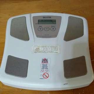 電子體重計(功能正常,可測體脂,附電池)(樹林大安路507號自取)