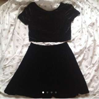 PRICE REDUCTION Velvet Co-ord
