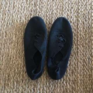 Rubi Black Canvas Shoes Size 38