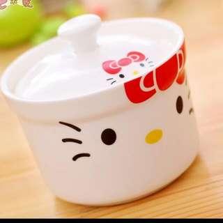 貓咪 陶瓷 小燉盅 (現貨)