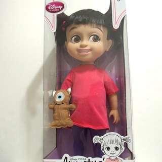 (保留中)美國 迪士尼 Disney 皮克斯 PIXAR 怪獸電力公司 阿布 boo 娃娃 Animators' Collection Q版