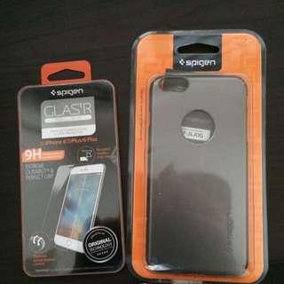 Authentic iphone 6/s plus spigen case