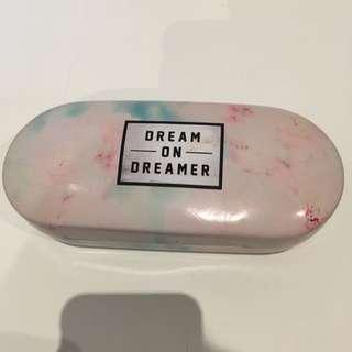 Dream On Dreamer Sunglasses Case