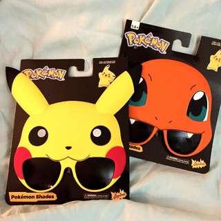 (保留中)美國✨萬聖節  皮卡丘 POKEMON 現貨 寶可夢 pikachu 太陽眼鏡 SHADES  墨鏡 造型眼鏡