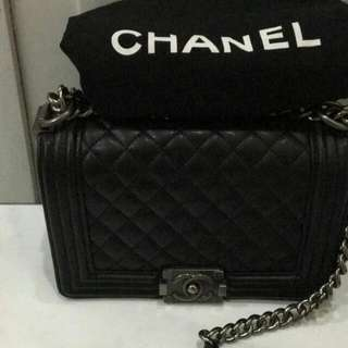 REPRICE!Chanel Boy Medium Mirror Quality Preloved